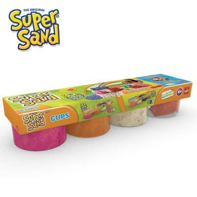 Super Sand Cups Pink-orange