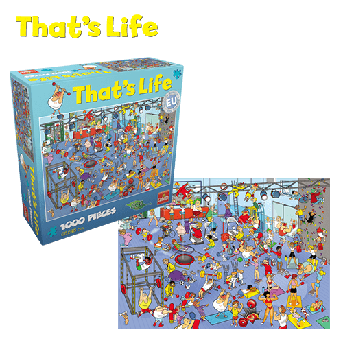 That's Life Puzzle_Gym_Webshop afbeelding