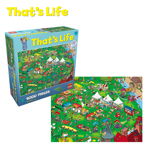 That's Life Puzzle_Summerfair_Webshop afbeelding