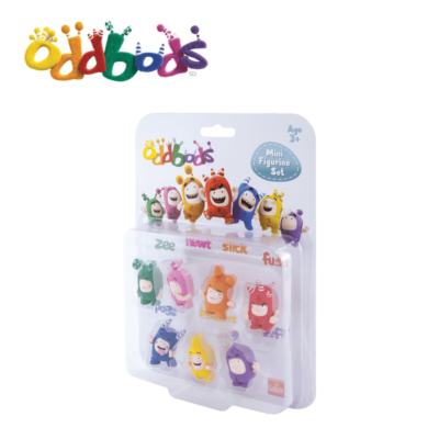 Oddbods Action pack Figurines