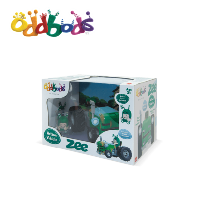 Oddbods Vehicle Zee