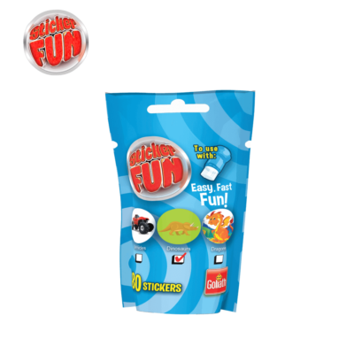 sticker fun refill boys blauw
