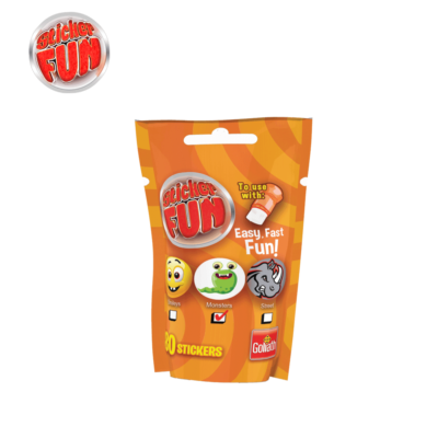 sticker fun refill boys oranje
