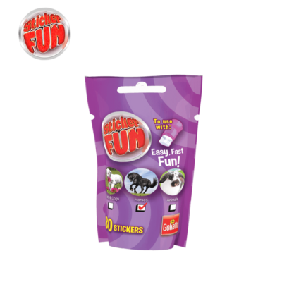 sticker fun refill girls paars