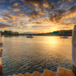 71380 Puzzle Philip Johnson Sunset over Pittwater P