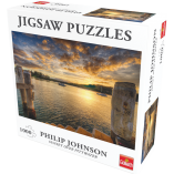 71380 Puzzle Philip Johnson Sunset over Pittwater R