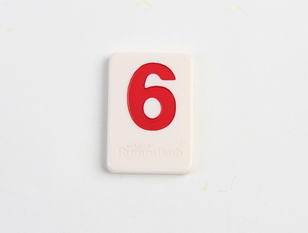 Deluxe Rummikub Large Number Edition Tile